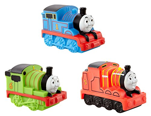 My First Thomas The Train Bath Squirters Bundle includes 3 items: Thomas, James and Percy