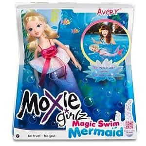Moxie Girlz 510705 - Magic Swim Mermaid Doll Avery (Bandai)