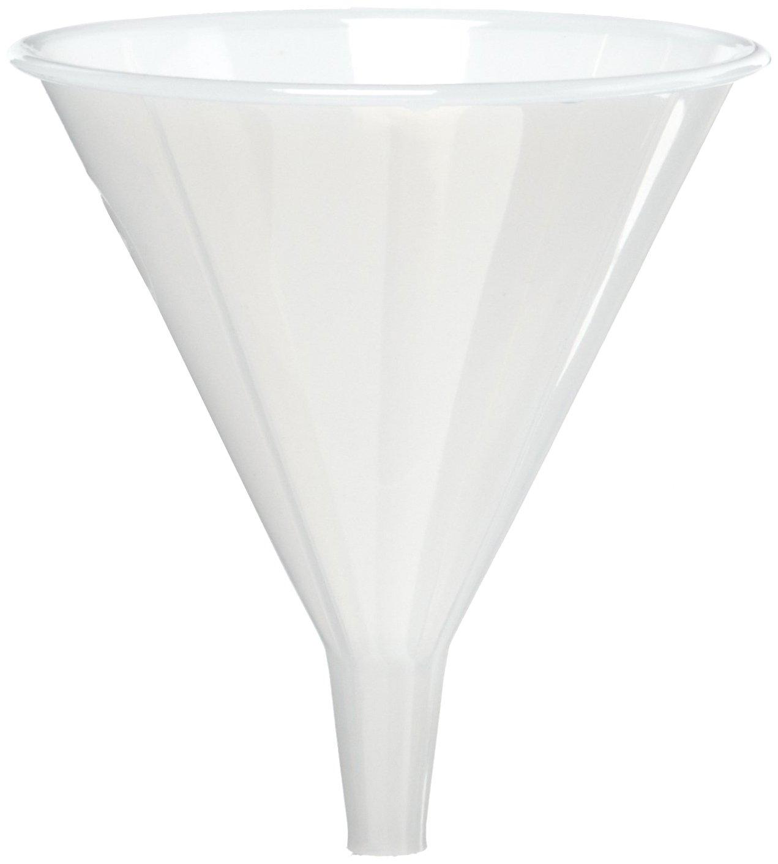 Polypropylene 80 mm Powder Funnel AZLON FWC204 Plastic Pack of 5