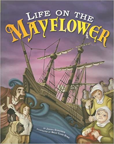 Read Life on the Mayflower (Thanksgiving) PDF