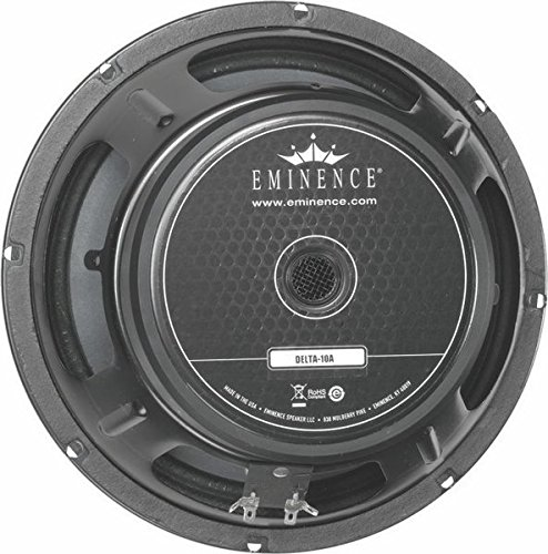 Eminence American Standard Delta 10A 10'' Pro Audio Speaker, 350 Watts at 8 Ohms by Eminence