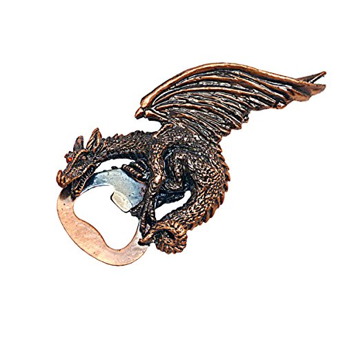 Design Toscano Grip the Dragon Pewter Gothic Bottle Opener