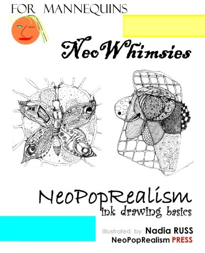 NeoWhimsies: NeoPopRealism Ink Drawing Basics for Mannequins