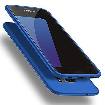 X-level Funda para Samsung Galaxy S7, Carcasa para Samsung Galaxy S7 Suave TPU Gel Silicona Ultra Fina Anti-Arañazos y Protección a Bordes Funda Phone ...
