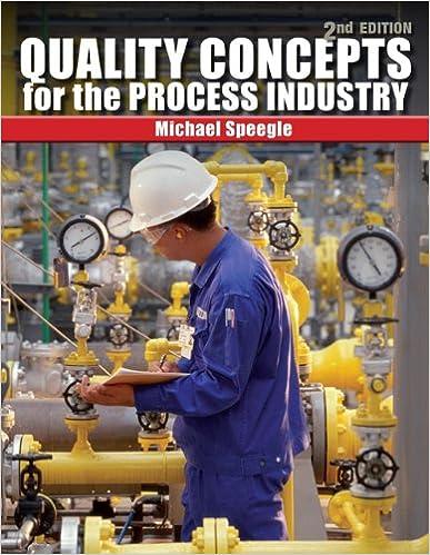Livre de téléchargement Google Quality Concepts for the Process Industry by Michael Speegle en français PDF ePub iBook