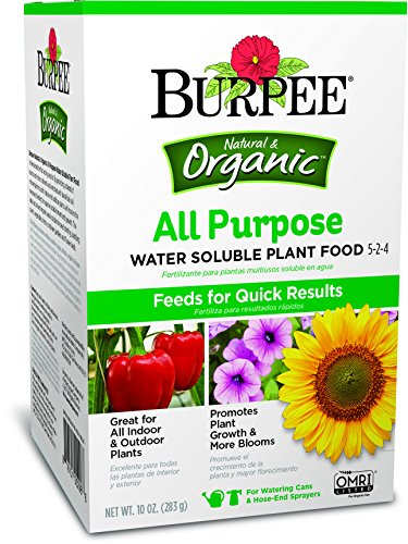 Burpee AP Purpose Water Soluble Plant Food, 10 oz Organic ()