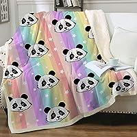 Sleepwish Panda Throws and Blankets