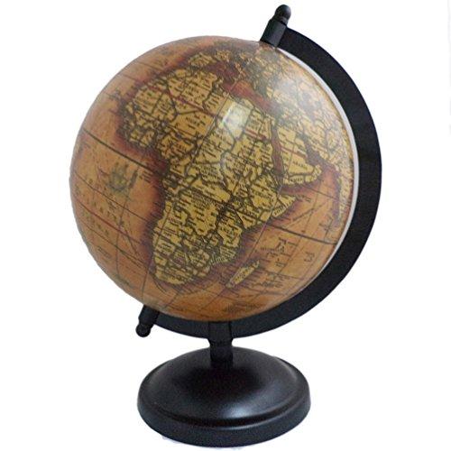 Antique World Earth Globe Big Rotating Ocean Home/Office Decor Metal - World Jewel Globe