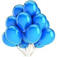 "Harry Zone 100 pcs BlueLatex 12"" Balloons for Decoration"