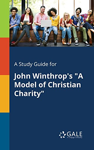 winthrop a model of christian charity sparknotes
