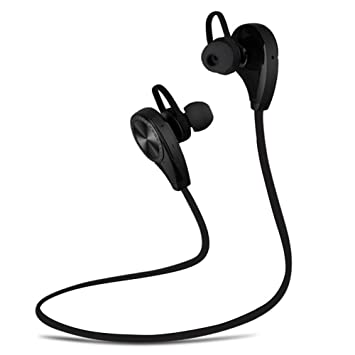 Zhrqinss Auriculares Bluetooth Auriculares Subwoofer Bluetooth 4.1 Estéreo HD Calidad De Sonido Reducción De Ruido Deportes