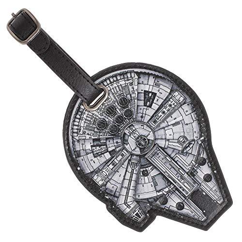 Star Wars Millenium Luggage Travel ID Tag (Luggage Tag Star Wars)