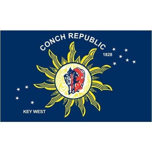 Conch Republic 3 x 5 feet Polyester ()
