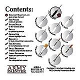 The Army Painter Wargames Mega Brush Set - 10