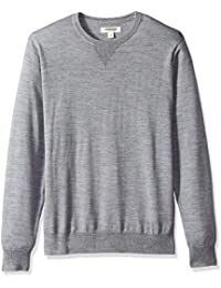 Men's Merino Wool Crewneck Sweater