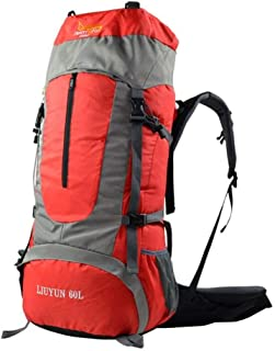 CYYAW Sac à Dos, Sac De Camping en Plein Air d'alpinisme Grande Capacité Sac à Dos en Nylon Imperméable Sac à Dos De Randonnée