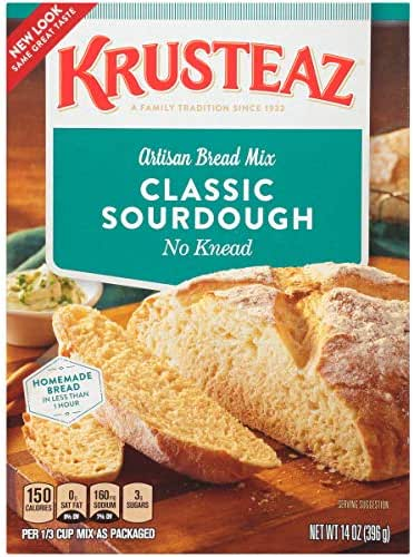 Baking Mixes: Krusteaz Classic Sourdough Bread Mix