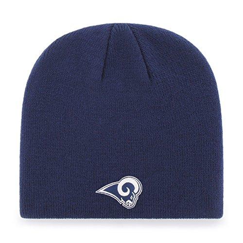 - OTS Adult Men's NFL Beanie Knit Cap, Team Color, One Size