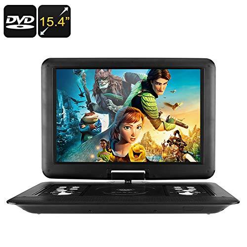 15.4 Inch Portable EVD DVD Player (Universal Disc, Game, FM Radio, Analog TV, 3D Movie, 1366x1280) B07BL1D3H1