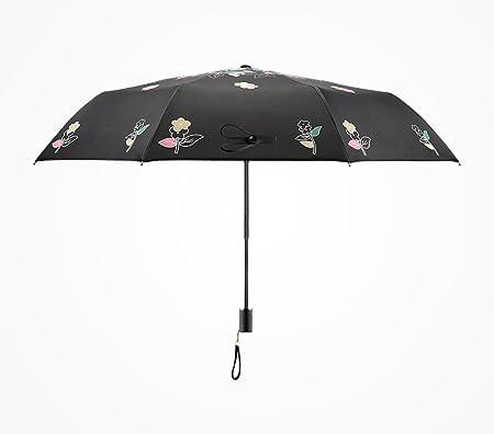 Paraguas plegable, fibra de carbono Ms Anti-UV pintado a ...