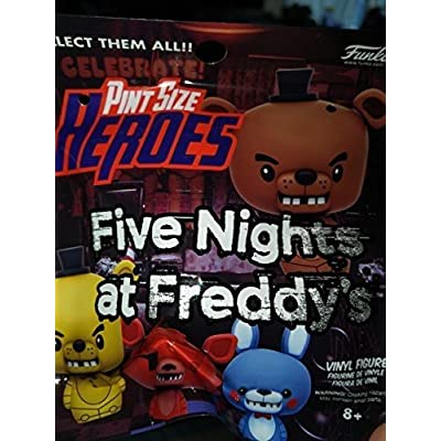 Funko Five Nights at Freddy's One Mystery Pint Size Heroes Figure: Funko Pint Size Heroes: Toys & Games