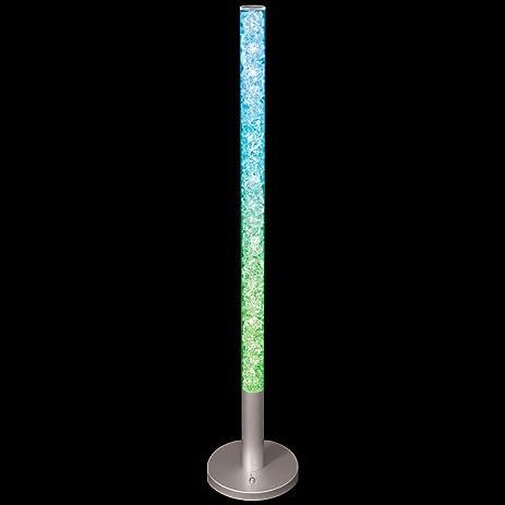 LumiSource Radiance Floor Lamp, Clear / Multi