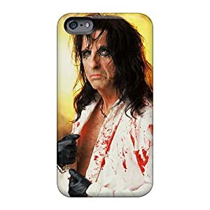 Iphone 6plus NZu5967EAgk Support Personal Customs Realistic Alice Cooper Band Image Shock Absorbent Hard Phone Cover -JonBradica