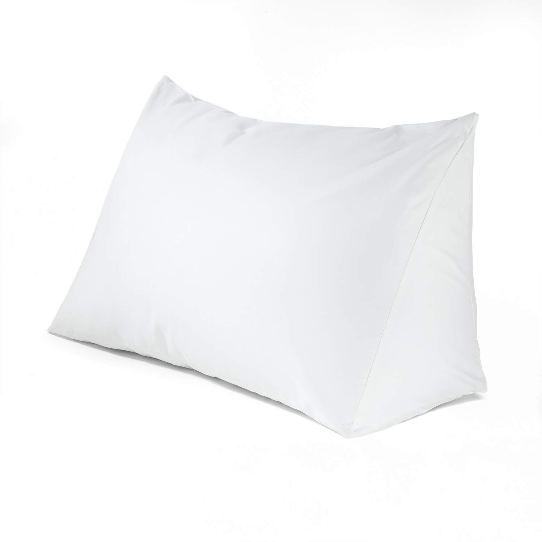 DOWNLITE Reading Wedge Triangle Pillow, Bonus Acid Reflux Help -