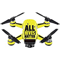 Skin For DJI Spark Mini – All Hives Matter | MightySkins Protective, Durable, and Unique Vinyl Decal wrap cover | Easy To Apply, Remove, and Change Styles | Made in the USA