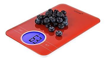 Korona Karla 70233 eléctrico Báscula de cocina, color rojo: Amazon.es: Hogar