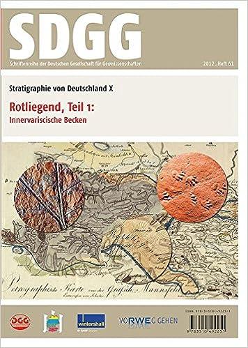 Book Stratigraphie von Deutschland X