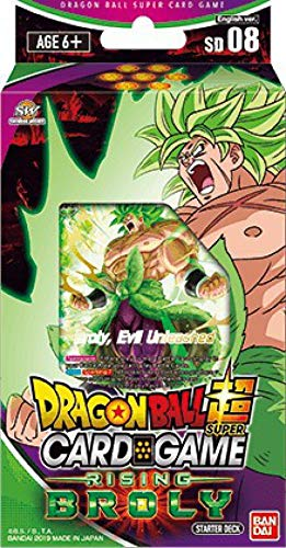 - Dragon Ball Super TCG Rising Broly Series 6 Destroyer Kings Starter Deck 08