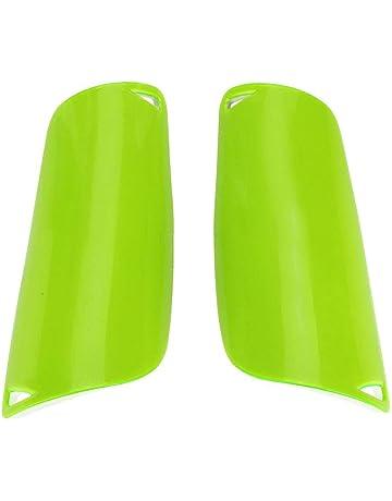 Dioche Espinilleras de fútbol, Protector de piernas Transpirables (1 par)(