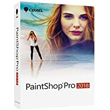 Corel PaintShop Pro 2018, Box Pack, 1 User