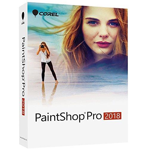Corel PaintShop Pro 2018 Photo Editing and Graphic Design Suite for PC (Old Version) by Corel