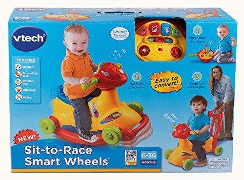 Amazon Vtech Sit To Race Smart Wheelsyellow Toys Games