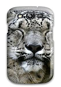Snap-on Snow Leopard Case Cover Skin Compatible With Galaxy S3