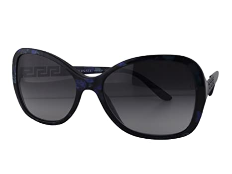 7925b2d509 Versace VE 4271-B Marble Black-Green-Blue w Gray Gradient Lens 5127 8G   Amazon.ca  Clothing   Accessories