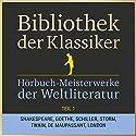 Hörbuch-Meisterwerke der Weltliteratur, Teil 1 (Bibliothek der Klassiker) Hörbuch von  div. Gesprochen von: Jürgen Fritsche