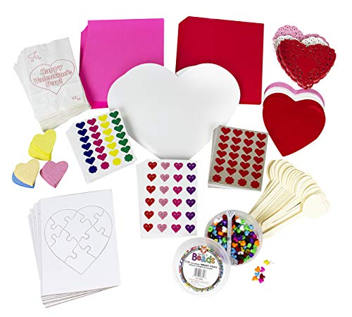 Classroom Decoration and Craft Kit - Valentine's Day - Giant Size - Over 1000 -