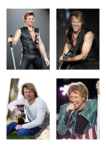 4 - Bon Jovi/Jon Bon Jovi 5 x 7/5x7 GLOSSY Photo Pictures -
