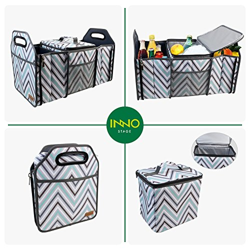 1306c6bcc0a3 INNO STAGE Trunk Organizer for Front or Backseat with Insulated ...