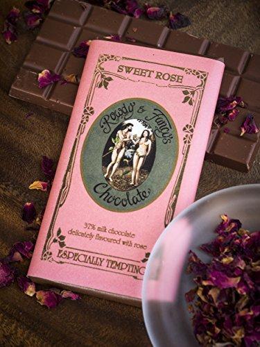 ARTISAN LUXURY HANDMADE CHOCOLATE by ROWDY AND FANCY 120g (Sweet Rose) by Ty (Luxury Handmade Chocolates)