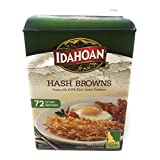 Idahoan Hash Browns 964G Box - 72 Servings - 1/2 Cup Portion Sizes