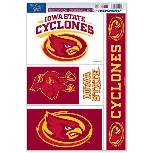 WinCraft Iowa State Cyclones Ultra Decal Set - 11'' X 17''
