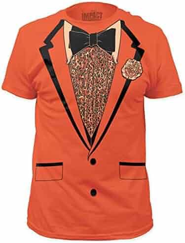 Orange Retro Prom Mens Tee