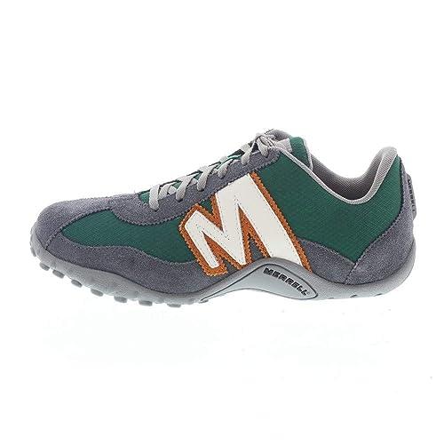 Merrell Scarpe Sprint Blast Uomo Green Casual Moda Urban Sneakers   Amazon.it  Scarpe e borse 60b25f82ba2