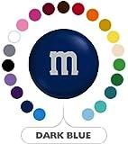 M&M's Dark Blue Milk Chocolate Candy 1LB Bag