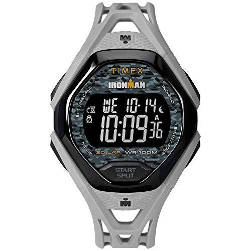 Timex Ironman Sleek 30 Full Resin Strap Watch - Grey [TW5M23800JV]