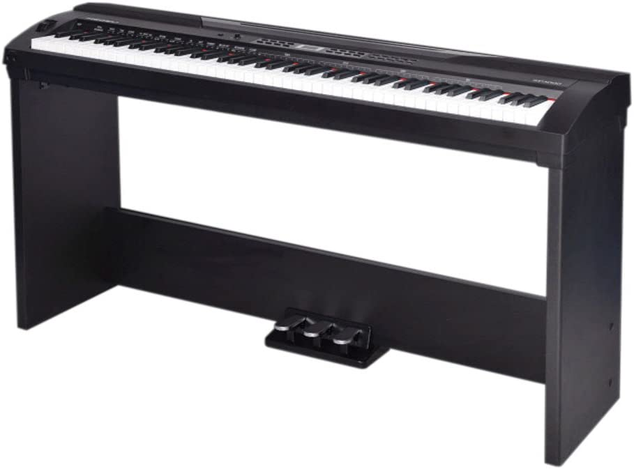 Medeli – Piano Digital SP3000 con soporte y pedales: Amazon ...